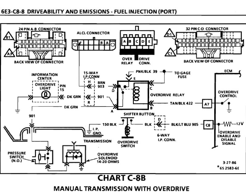 Odcontrol on 82 Corvette Wiring Diagram